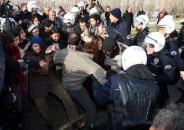 ODTÜ'de polis müdahalesi yeniden başladı!