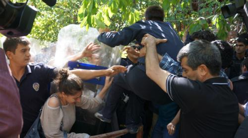 ODTÜ'de polis yine müdahale etti!