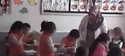 Öğretmen şiddetini ortaya çıkaran veliye suç duyurusu