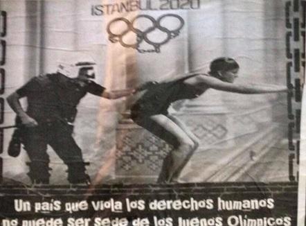 Gökçek'i kızdıran Olimpiyat afişi!