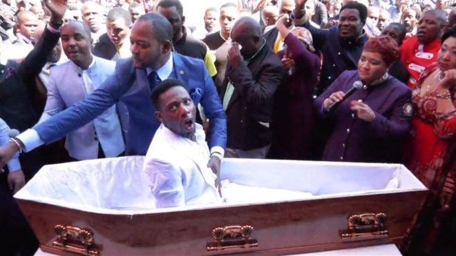 Ölüyü diriltme gösterisi yapan papaza dava açıldı