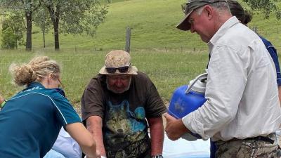 Ormanda kaybolan adam mantar ve baraj suyu ile hayatta kaldı