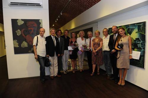 Otyam Sanat Galerisi'nde Beş Mekan Zaman sergisinin açılışı yapıldı!
