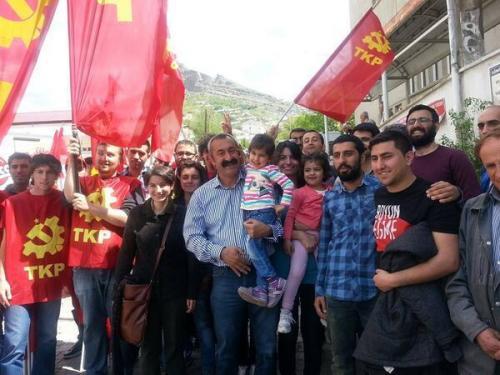 Komünist belediyede 1 Mayıs farkı!