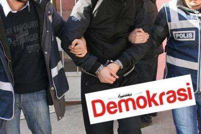 Özgürlükçü Demokrasi Gazetesi'ni polis bastı, hemen ardından kayyım atandı