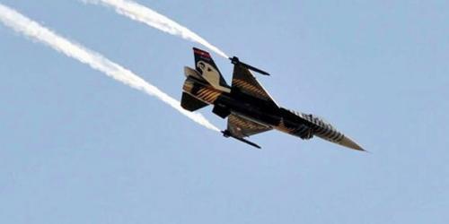 Sivas'ta askeri uçak düştü!
