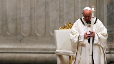 Papa: Ayasofya'yı düşünüyorum ve derin acı duyuyorum
