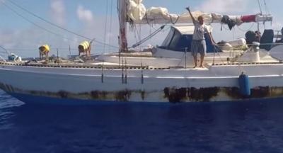 Pasifik Okyanusu'nda beş aydır ulaşılamayan iki denizci: Hayatımız kurtuldu