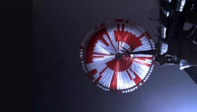 Perseverance'ın paraşütündeki kodun sırrı 6 saatte çözüldü