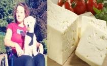 Peynir yedi, sakat kaldı!