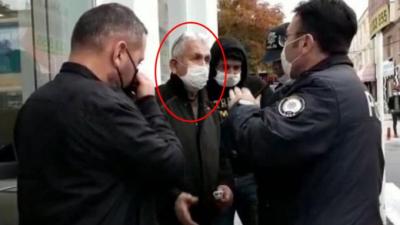 Polis, banka önünde durdurup dolandırılmaktan kurtardı