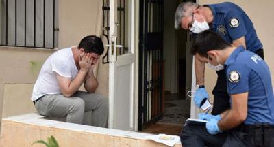 Polislere 'düştü' diyerek ağladı, sevgilisini öldürdüğü ortaya çıktı