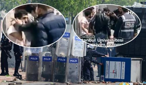 Polis zorla poşu takıp fişledi!