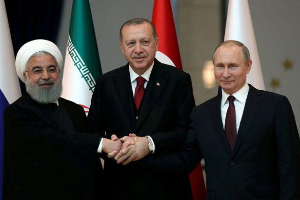 Putin: Rusya, İran ve Türkiye ile yoğun bir şekilde çalışıyor