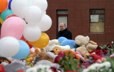 Putin'den AVM yangını tepkisi