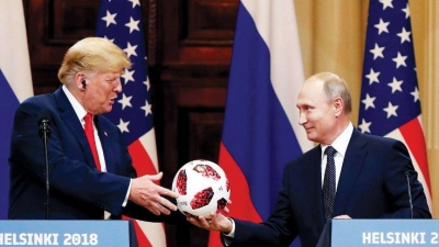 Putin'in Trump'a hediye ettiği topta çip bulundu