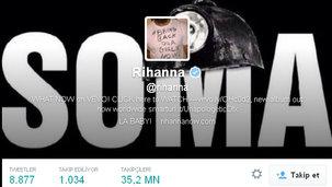 Rihanna'dan Soma tepkisi!