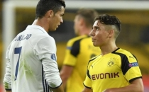 Ronaldo Emre Mor'a 'Sakın pes etme, sende gençliğimi görüyorum' dedi!