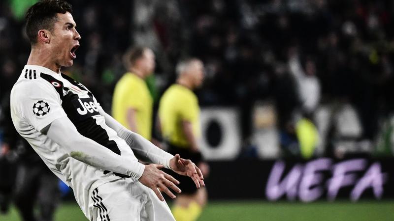 Ronaldo'ya 'uygunsuz gol sevincinden' para cezası