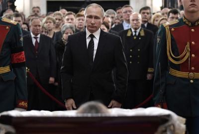 Rus Büyükelçi Karlov son yolculuğuna uğurlandı