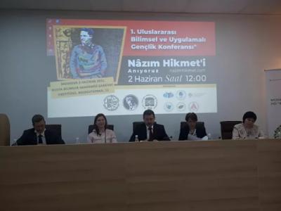 Rusya'da Nazım Hikmet'e adanan konferans düzenlendi