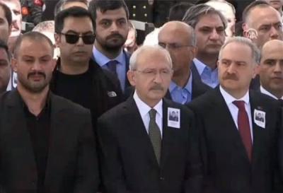 Sabah gazetesi: Cenazeye katılan Kılıçdaroğlu'nun korumaları gözaltına alındı