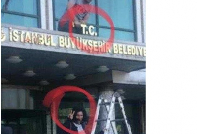 Sabah gazetesi: İBB'ye T.C. eklenmesi sırasında PKK tarafından yapılan 'zafer işareti' yapılması dikkat çekti