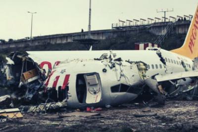 Sabiha Gökçen Havalimanı'nda kaza yapan uçağın kaptan pilotu tutuklandı