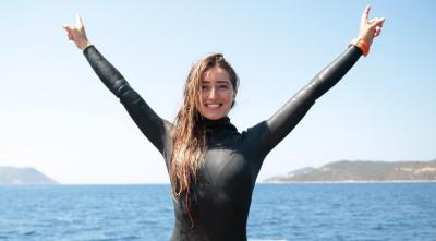 Şahika Ercümen, 7 ülke 46 sporcunun katıldığı yarışmada şampiyon oldu