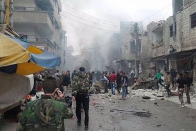 Şam'da bombalı saldırı: 5 ölü, 15 yaralı