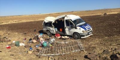 Şanlıurfa'da işçileri taşıyan minibüs devrildi: 1 ölü, 25 yaralı