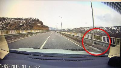 Sarı Saltuk Köprüsü'nde güvenlik kamerasına yansıyan kişinin Gülistan Doku olduğu doğrulandı