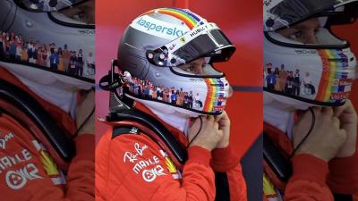 Sebastian Vettel'den LGBTİ'ye destek
