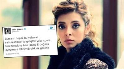 Selin Şekerci: Emine Erdoğan'dan özür diledim