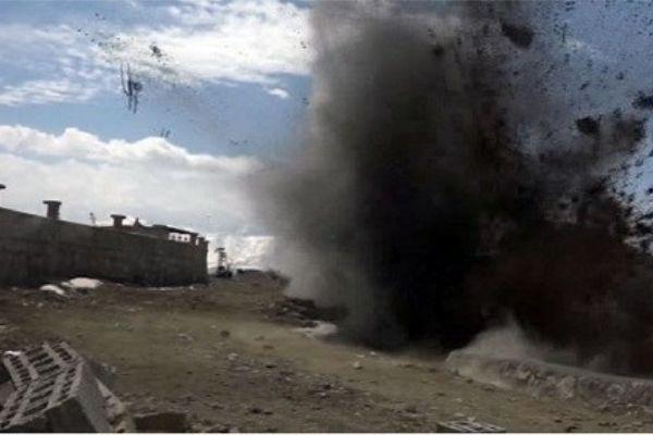 Şemdinli'de patlama; bir kişi hayatını kaybetti,bir kişi ağır yaralı