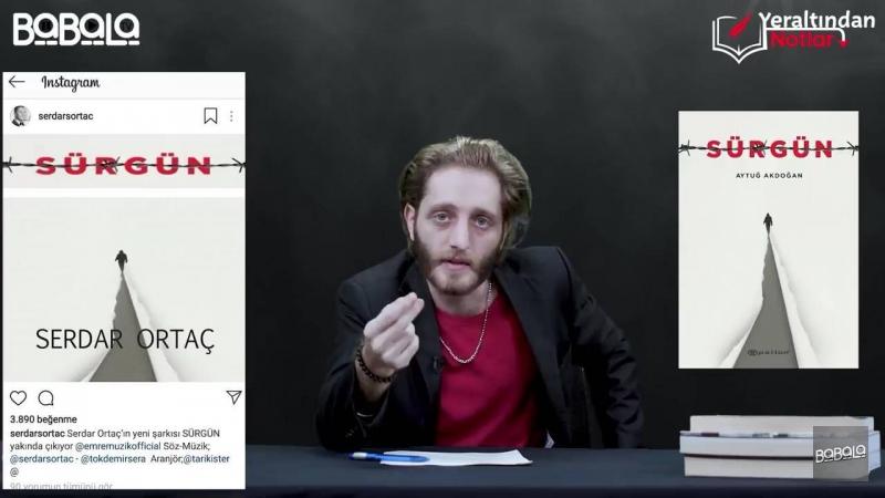 Serdar Ortaç, Aytuğ Akdoğan'ın kitap kapağını çaldı!