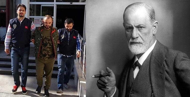Sigmund Freud'un kitaplarını okuyarak 25 kadını dolandırdı