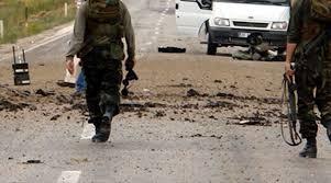 Siirt'te patlama! 1 asker hayatını kaybetti, 2 asker yaralı...