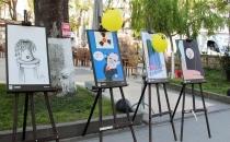Sinop'ta nükleer karşıtı karikatür sergisi açıldı!