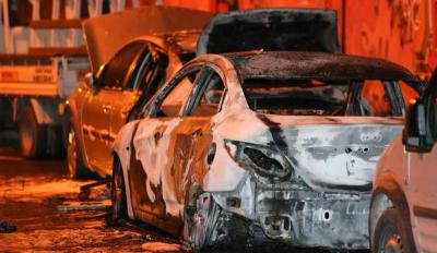 Şişli'de 4 günde 18 aracın lastikleri kesilip ateşe verildi