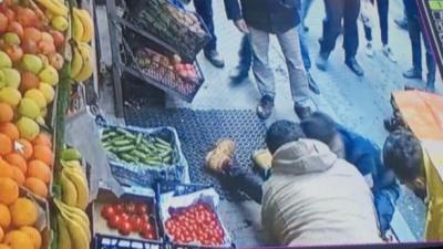 Şişli'de Libyalı turist bacağından bıçaklandı