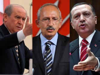İşte parti liderlerinin form grafiği! Erdoğan düşüşte...