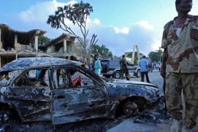 Somali'de patlama!