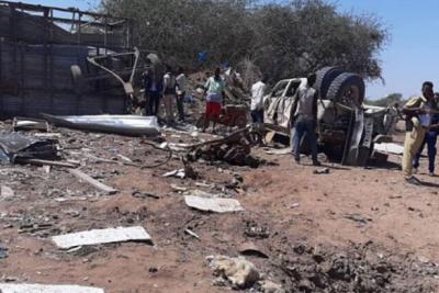 Somali'de Türk müteahhitlere bombalı saldırı