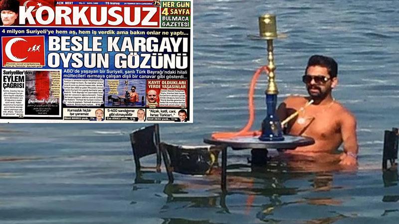 Sözcü grubundan Korkusuz'un 'Suriyeliler denizin keyfini böyle çıkarıyor' dediği kişi Türk çıktı, dava açmaya hazırlanıyor