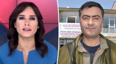Spiker Nazlı Çelik'in HDP'li Zeydan'a açtığı tazminat davası reddedildi