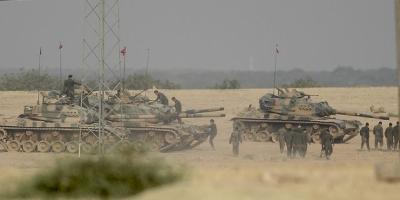 Sputnik: Türk askeri El-Bab'a girdi