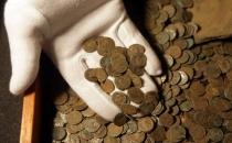 Su borusu kontrolünde 600 kilo Roma sikkesi bulundu!