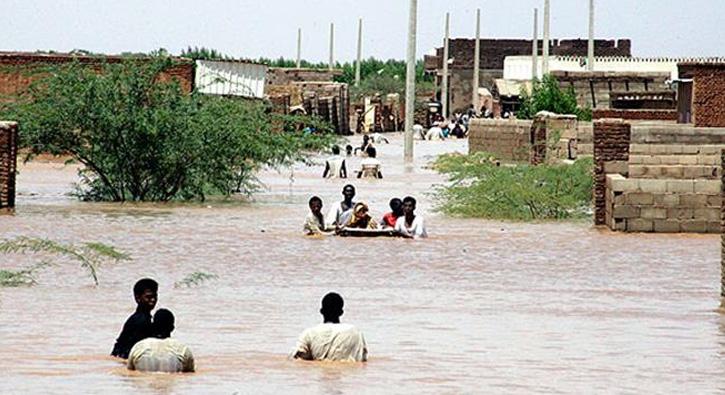 Sudan'da sel: 46 kişi öldü