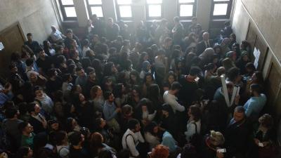 Şule Çet davasına gelenler salona sığmadı